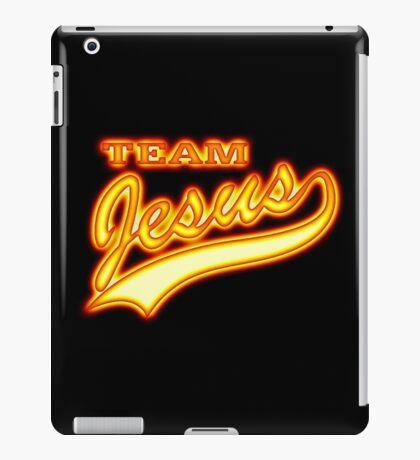 Team Jesus Christ Son of God Lord iPad Case/Skin