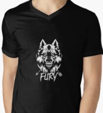 fury Men's V-Neck T-Shirt