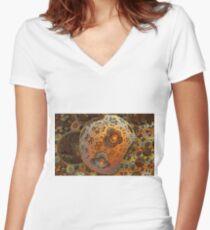 Inner Workings Women's Fitted V-Neck T-Shirt