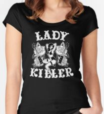 Lady Killer Women's Fitted Scoop T-Shirt