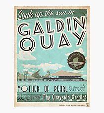 Besuchen Sie den schönen Galdin Quay! Fotodruck