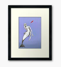 Gervais Mermaid Framed Print