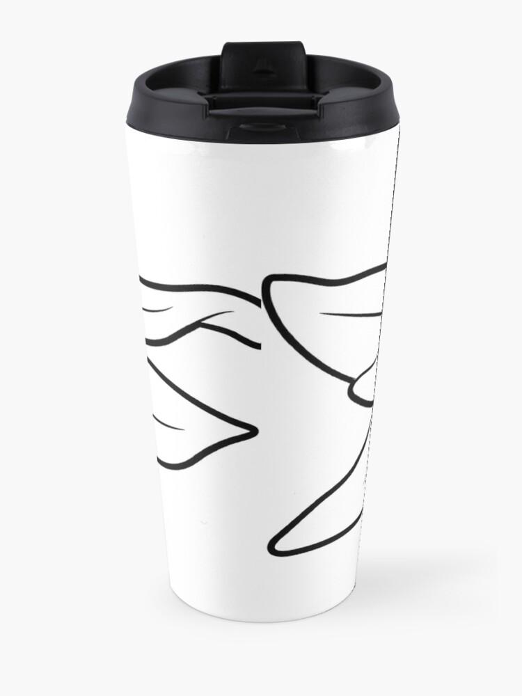 Alternate view of Edelweiss flower Travel Mug