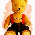 Teddy Yolo by Andrea Beloque
