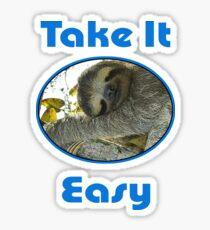 Funny Sloth Sticker
