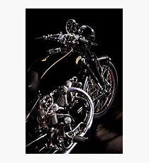 Vincent Black Shadow Engine Photographic Print