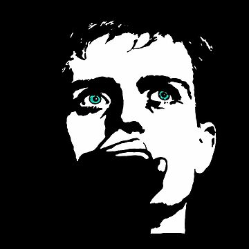 Ian Curtis, touching from a distance by KevinMenace