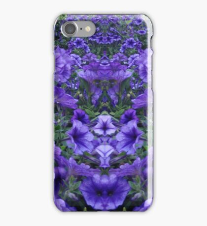 Purple Petunias iPhone Case/Skin