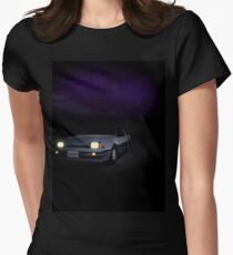 Night Nissan N13 EXA Women's Fitted T-Shirt