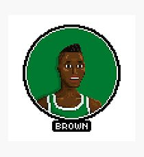 Dee Brown - Celtics Photographic Print
