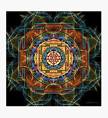 The Sri Yantra - Sacred Geometry Photographic Print