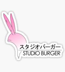 Studio Burger Sticker