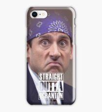Straight Outta Scranton - Prison Mike iPhone Case/Skin
