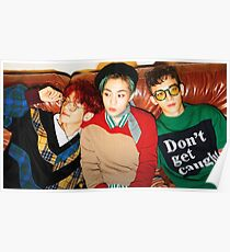 EXO CBX Hey Mama Poster