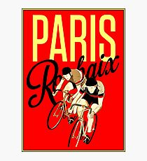 TOUR DE FRANCE; Vintage Bike Racing Print Photographic Print