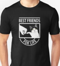 Cat Best Friends For Life  Unisex T-Shirt