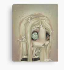 Stick A crystal in my eye Canvas Print