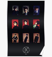 EXO Monster Poster