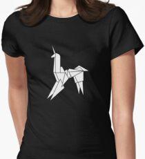BLADERUNNER ORIGAMI UNICORN Women's Fitted T-Shirt
