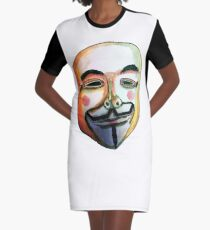 Guy Fawkes Vestido camiseta