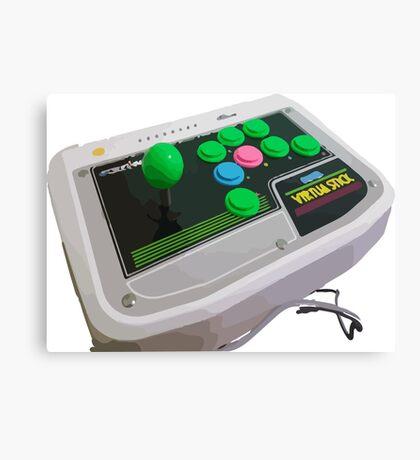 Arcade Sega Stick Canvas Print