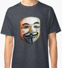 Guy Fawkes Camiseta clásica