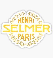 Golden Selmer Sticker