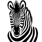 Smiling Zebra by Lisann
