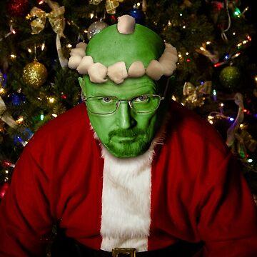 Breaking Bad Santa by BigRedCurlyGuy