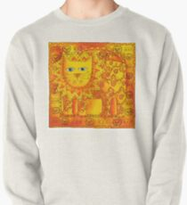 Patterned Lion Pullover