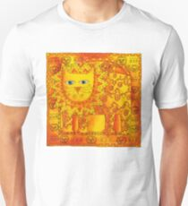 Patterned Lion Unisex T-Shirt