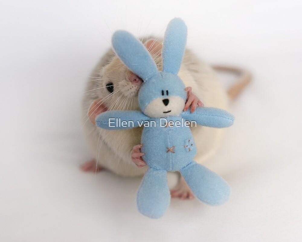 Me and my bunny. by Ellen van Deelen
