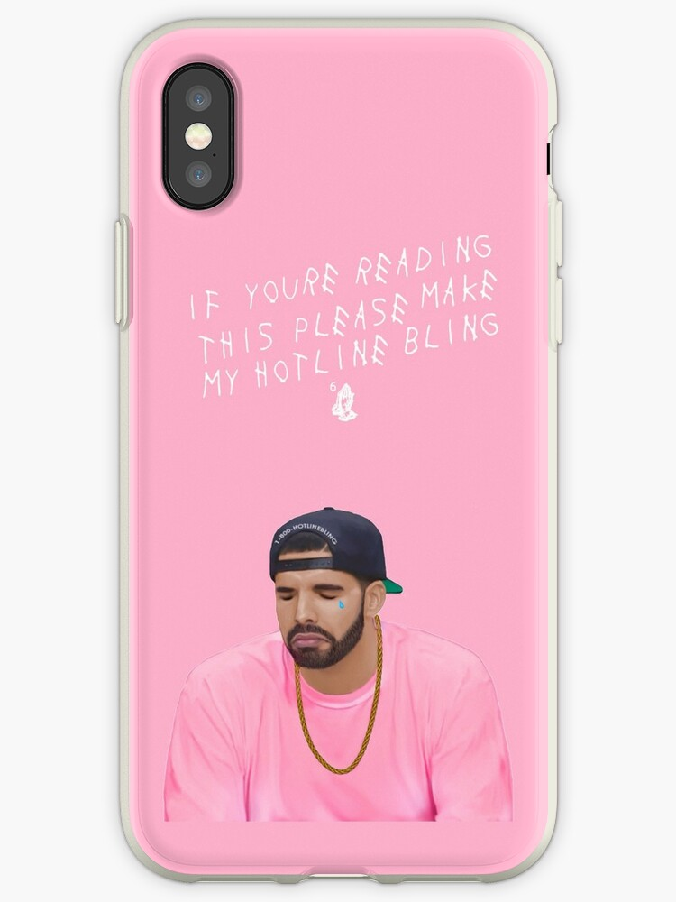 huge discount 56795 baccb 'Make My Hotline Bling' iPhone Case by jose leray