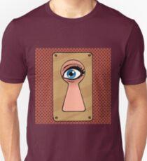 Look through the keyhole  T-Shirt