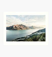 Queenstown, New Zealand Art Print