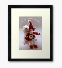 Wishing you all a Merry Christmas! Framed Print