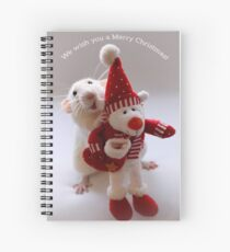Wishing you all a Merry Christmas! Spiral Notebook