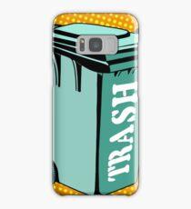 Trash ecology recycling tank Samsung Galaxy Case/Skin