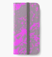 Pink and Grey Reflection iPhone Wallet/Case/Skin