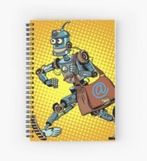 Automatic mailing of the robot Spiral Notebook