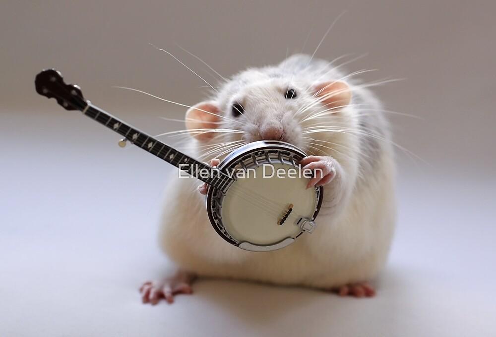 My banjo. by Ellen van Deelen