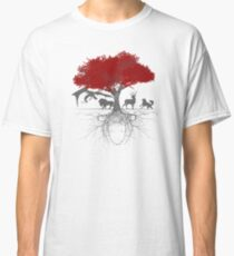 Three-eyed raven tree Classic T-Shirt