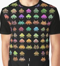 Fashionable Invaders Graphic T-Shirt