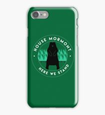 Mormont iPhone Case/Skin