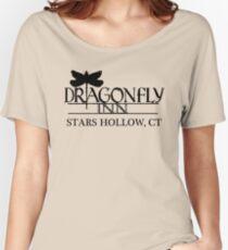 Camiseta ancha para mujer Camisa Dragonfly Inn - Gilmore Girls, Stars Hollow, Lorelai, Rory