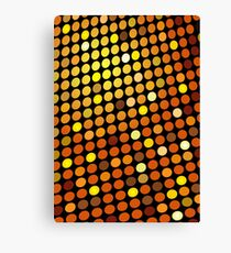 Red Color Blind; Abstract Digital Vector Art Canvas Print