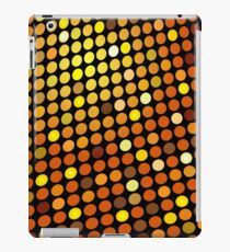 Red Color Blind; Abstract Digital Vector Art iPad Case/Skin