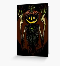 The Scarecrow Amulet Greeting Card
