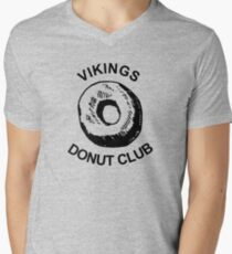 Vikings Donut Club shirt (Bootleg) Men's V-Neck T-Shirt