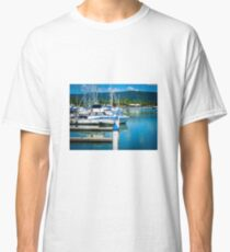 Boats In The Marina Classic T-Shirt